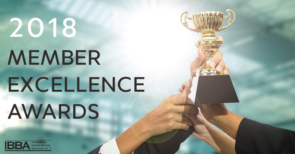 IBBA member excellence awards